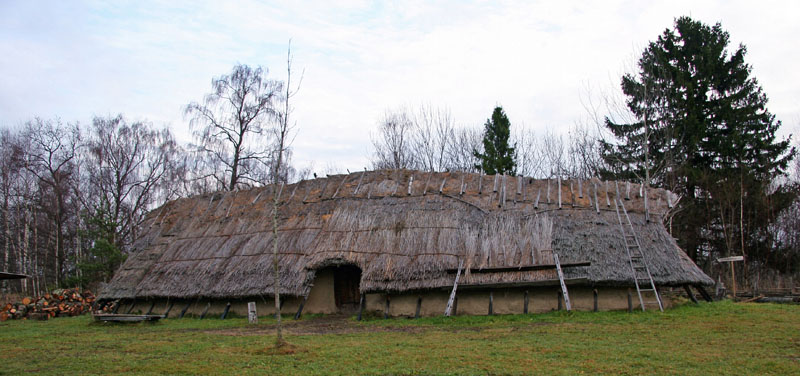 Viking Toste's long house